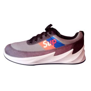 Sup Quality Low Top Sneakers -Dark Grey/Blue/White