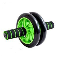AB Wheel - Pro Double Roller for Total Body Workouts + Free Knee pad