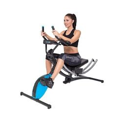 Ab Bike Type Muscle Exerciser 8 Levels of Intensity