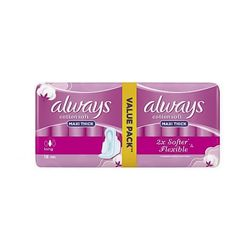 Always Maxi Thick F. Soft 16 Singles
