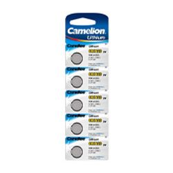 Camelion CR1620-BP5  Button Cell Lithium Battery 5 Pack