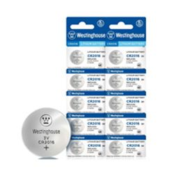Camelion  CR2016-BP5  Button Cell Lithium Battery 5 Pack