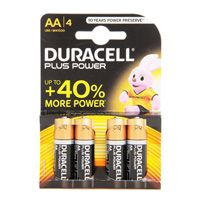 Duracell Plus Power x AA4