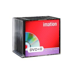 Imation DVDR 10 Pack Case Printable-16x