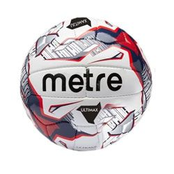 Metre Ultimax Leather Football - Size 5