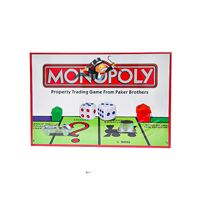Monopoly Board Game - Paker Brothers