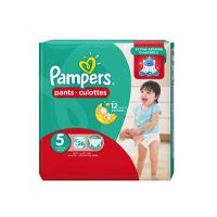 Pampers Pants Diapers, Junior - Size 5 - 26 Count