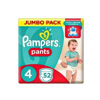 Pampers Pants Diapers, Maxi - Size 4 - 52 Count