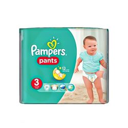 Pampers Pants Diapers, Midi - Size 3 - 31 Count