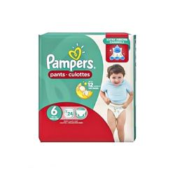 Pampers Pants Diapers, X-Large - Size 6 - 24 Count