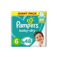 Pampers Pants Diapers, X-Large - Size 6 - 48 Count