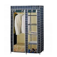 Wardrobe With Iron Stand - 0331