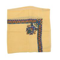 Women Scarf - Curry